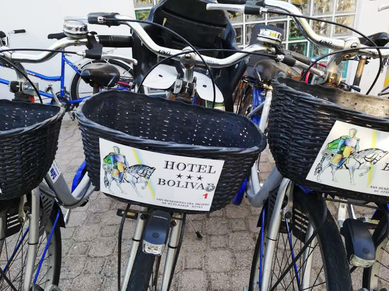 Bicicletta Hotel Bolivar